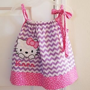 Other - 2 for $15 Hello Kitty Pillowcase Dress